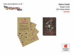 """Uncharted Seas: Dragon Lords - Game Cards """"Clearance"""""""