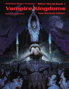Rifts RPG: Vampire Kingdoms - World Book 1 (Revised)