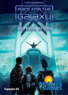 Race For The Galaxy: The Brink of War Expansion