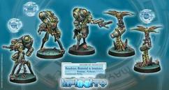 Infinity: Combined Army Ikadron Batdroid and Imetron