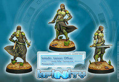 Infinity: Haqqislam: Saladin, Liaison Officer