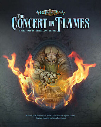 Victoriana RPG: The Concert in Flames (Clearance)