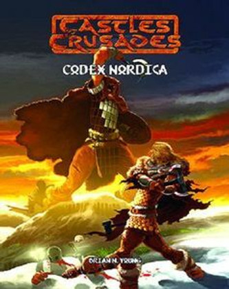"""Castles and Crusades RPG: Codex Nordica Hardcover """"Clearance"""""""