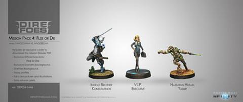 Infinity: Mission Pack Dire Foes Mission Pack 4: Flee or Die