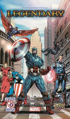 Legendary DBG: Marvel Captain America 75th Anniversary Expansion