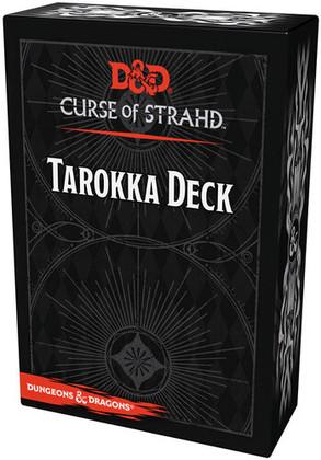 Dungeons & Dragons RPG: Curse of Strahd - Tarokka Deck