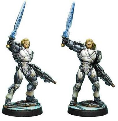 Infinity: ALEPH Achilles v2 (Hoplite Armor) (Multi Rifle, CCW)