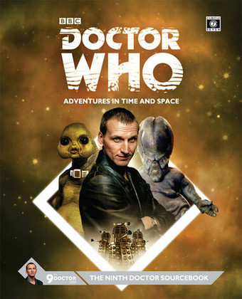 Doctor Who RPG: The Ninth Doctor Sourcebook (Hardcover) (Clearance)