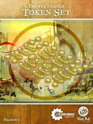 Guild Ball: (Brewer's Guild) Token Set (Clearance)