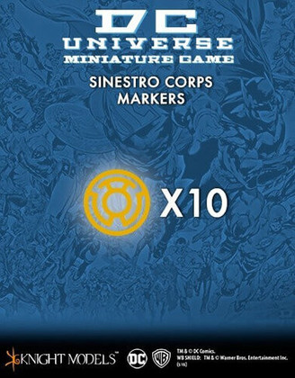 DC Universe Miniature Game: Sinestro Corps Markers (Clearance)