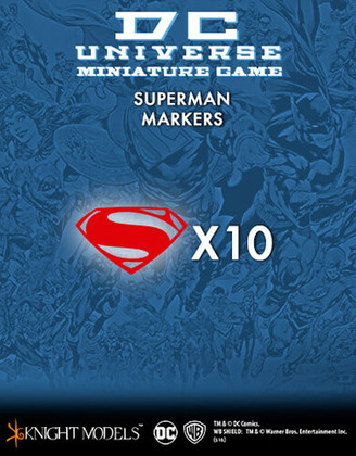 DC Universe Miniature Game: Superman Markers (Clearance)