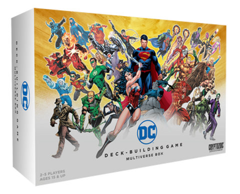 DC Comics Deck Building Game: Multiverse Box