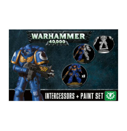 Warhammer 40K: Intercessors + Paint Set