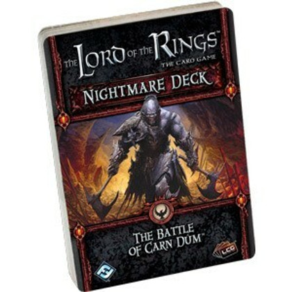 The Lord of the Rings LCG: The Battle of Carn Dum Nightmare Deck