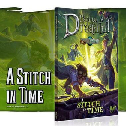 Through the Breach RPG: Penny Dreadful - A Stitch in Time (Clearance)