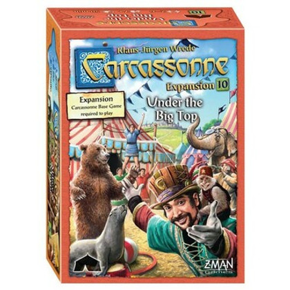 Carcassonne: Under the Big Top Expansion 10