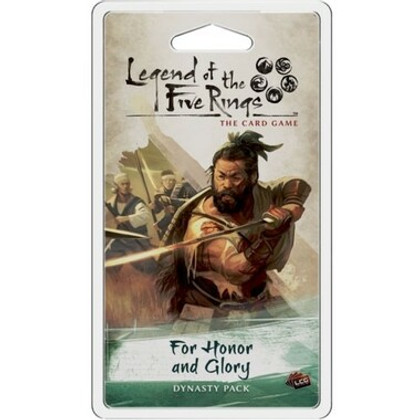Legend of the Five Rings LCG: For Honor & Glory Dynasty Pack