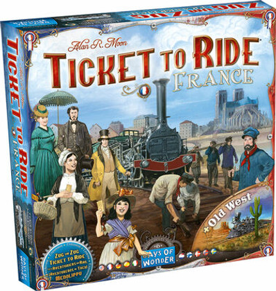 Ticket to Ride: France & Old West - Map Collection 6
