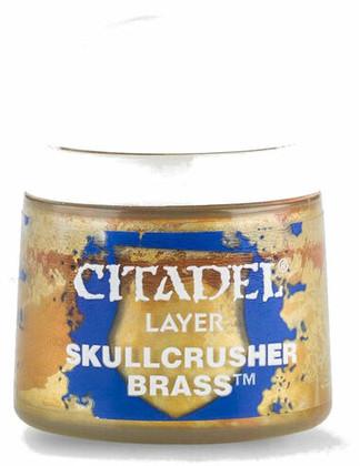 Citadel Layer Paint: Skullcrusher Brass (12ml)