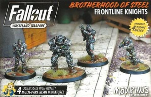 Fallout: Wasteland Warfare - Brotherhood of Steel Frontline Knights