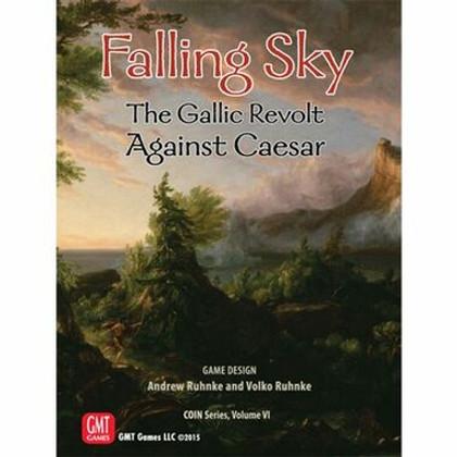 Falling Sky: The Gallic Revolt Against Caesar (2nd Printing)