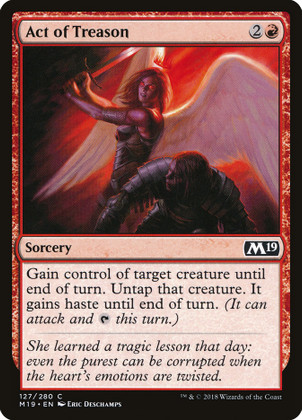 Act of Treason: Common #118 - Masters 25 (Foil)