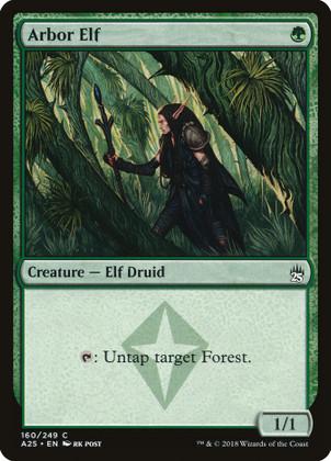 Arbor Elf: Common #160 - Masters 25