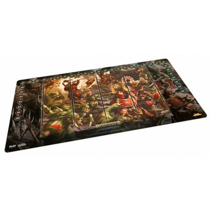 Warhammer TCG: Age of Sigmar Champions - 'Chaos vs. Destruction' Playmat (61x35cm)