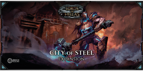 Lords of Hellas: City of Steel - 6th Player Expansion