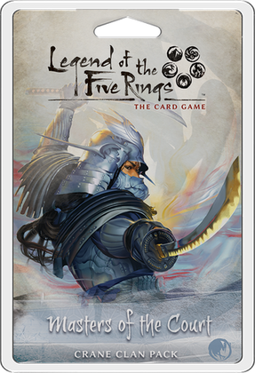 Legend of the Five Rings LCG: Masters of the Court - Crane Clan Pack