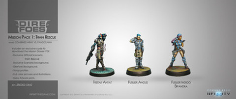 Infinity: Dire Foes Mission Pack 1 - Train Rescue