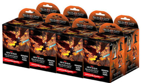Dungeons & Dragons Miniatures: Icons of the Realms - Baldur's Gate Descent into Avernus Booster Brick (8)