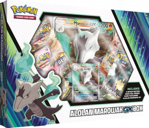 Pokemon: Alolan Marowak-GX Box