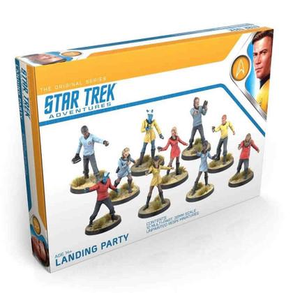 Star Trek Adventures RPG: The Original Series - Landing Party Miniatures Set (PREORDER)