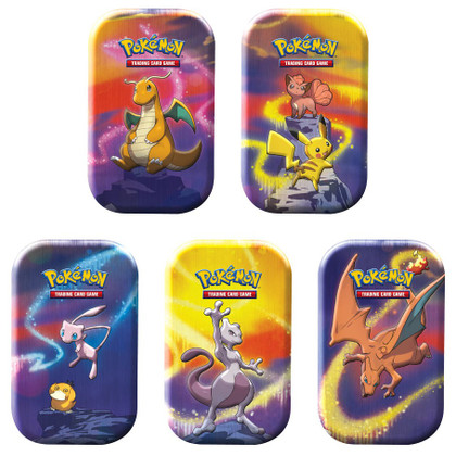Pokemon: Kanto Power Mini Tin (Set of 5)