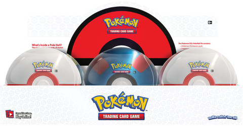 Pokemon: Poke Ball Tin - Wave 3 (Set of 6)