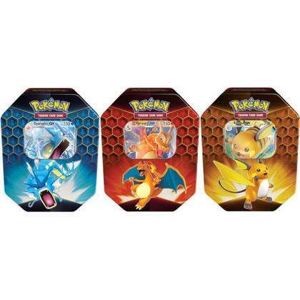 Pokemon: GX Hidden Fates Tin Bundle (Set of 3)