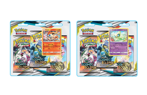 Pokemon: Sun & Moon - Cosmic Eclipse Three-Booster Blister Pack (Set of 2) (PREORDER)