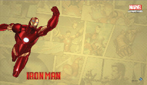 Marvel Champions LCG - Iron Man Game Mat