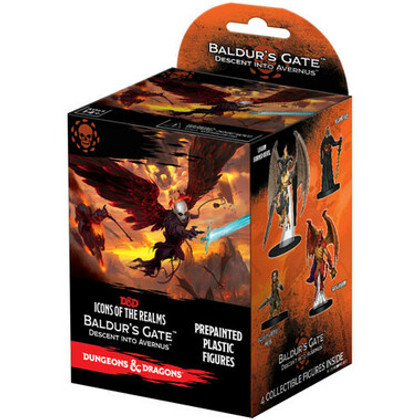 Dungeons & Dragons Miniatures: Icons of the Realms - Baldur's Gate Descent into Avernus Booster Pack