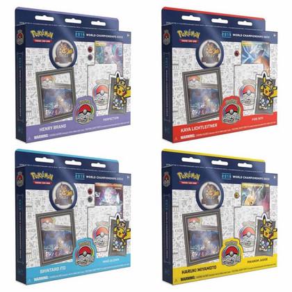 Pokemon: 2019 World Championship Deck (Set of 4)