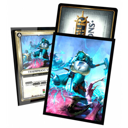 Ultimate Guard Sleeves: Warhammer Age of Sigmar - Champions 'Triumphant Smash' (40ct) (Clearance)