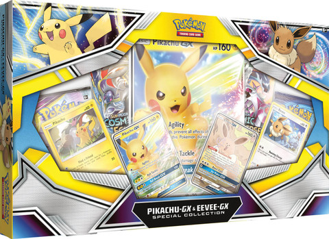 Pokemon Pikachu Gx Eevee Gx Special Collection Game Nerdz