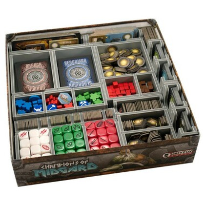 Box Insert: Champions of Midgard and Expansions