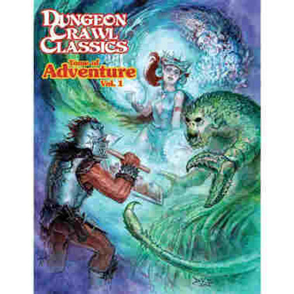 Dungeon Crawl Classics RPG: Tome of Adventure Vol. 1 (PREORDER)