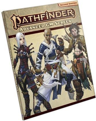 Pathfinder RPG 2nd Edition: Advanced GM Screen