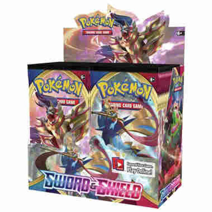 Pokemon: Sword & Shield Booster Box