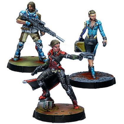 Infinity: Dire Foes - Datacash - Mission Pack 9