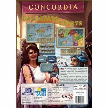 Concordia: Balearica & Cyprus Expansion
