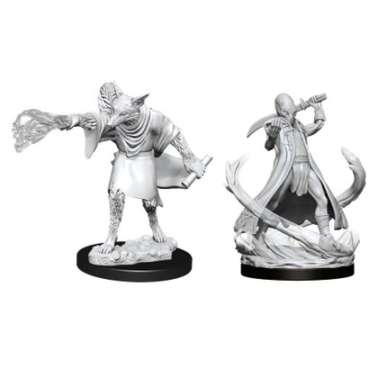 Dungeons & Dragons: Nolzur's Marvelous Unpainted Miniatures: Arcanaloth & Ultroloth